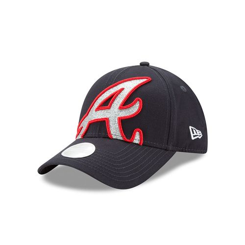New Era Women's Atlanta Braves 9FORTY Glitter Glam 3 Cap