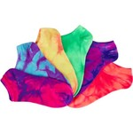 BCG Women's True Bright Tie-Dye Fashion Socks 6 Pairs - view number 3