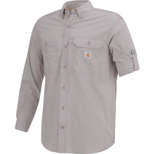 Carhartt Men's Force Ridgefield Solid Long Sleeve Shirt - view number 3