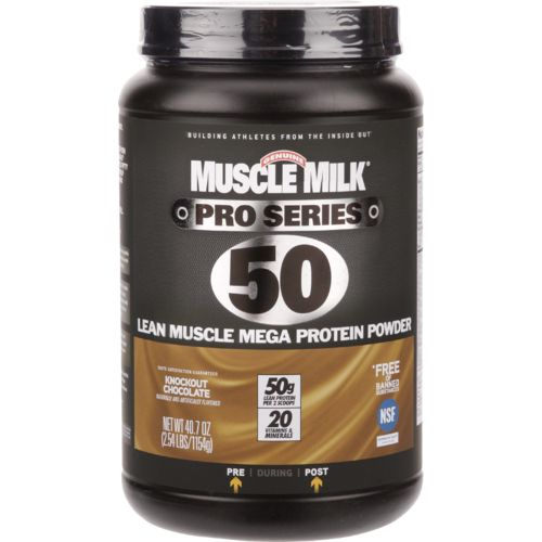 Muscle Milk Pro Series 50 Lean Muscle Mega Protein Powder