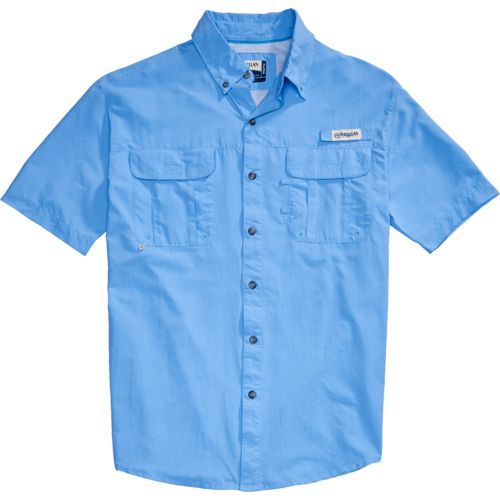 Magellan Outdoors Men's Laguna Madre Solid Short Sleeve Fishing Shirt - view number 4