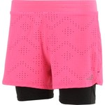 BCG Girls' Laser Cut Twofer Short - view number 3