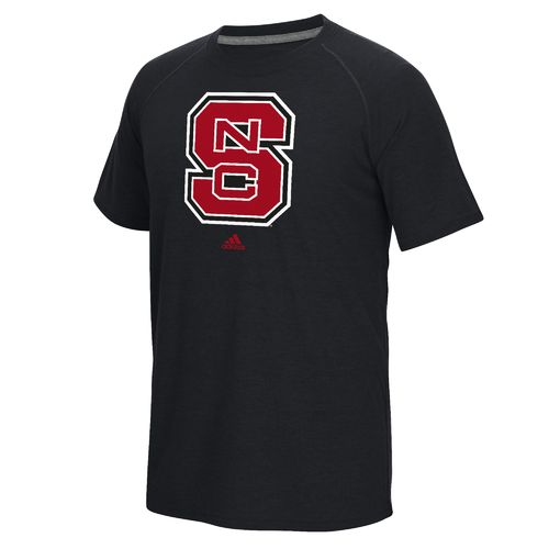 adidas Men's North Carolina State University School Logo Ultimate T-shirt - view number 1