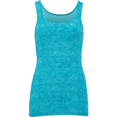 Display product reviews for BCG Women's Slub Print Baby Rib Tank Top