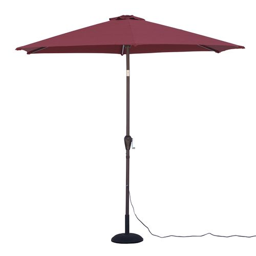 Quik Shade Ultra Brite Outdoor Warm Lighted Patio Umbrella - view number 3