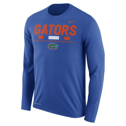 Nike Men's University of Florida Dry Legend Long Sleeve Staff T-shirt