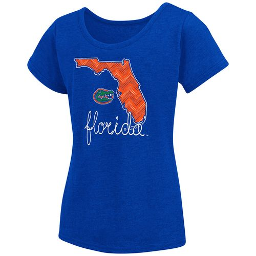 Colosseum Athletics™ Girls' University of Florida Tissue 2017 T-shirt