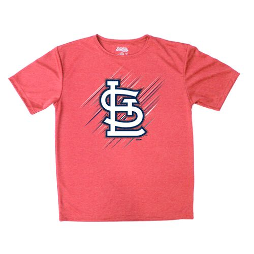 Stitches Boys' St. Louis Cardinals Sidewinder Short Sleeve T-shirt - view number 1