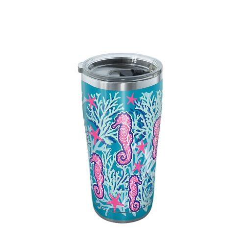 Tervis Seahorse and Starfish 20 oz Stainless Steel Tumbler