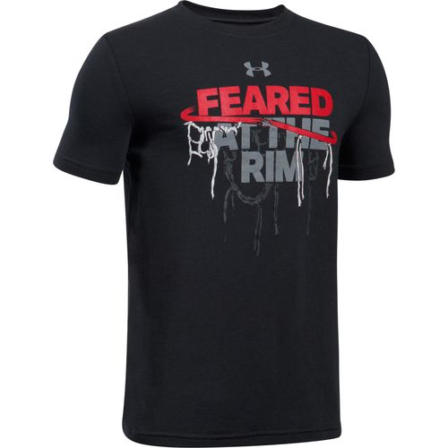Under Armour Boys' Feared At The Rim Short Sleeve T-shirt