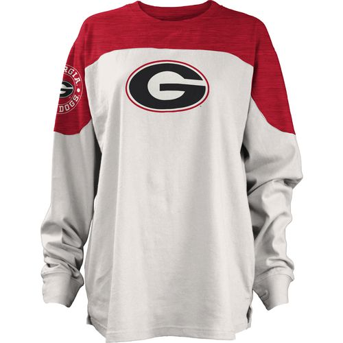 Three Squared Juniors' University of Georgia Cannondale Long Sleeve T-shirt