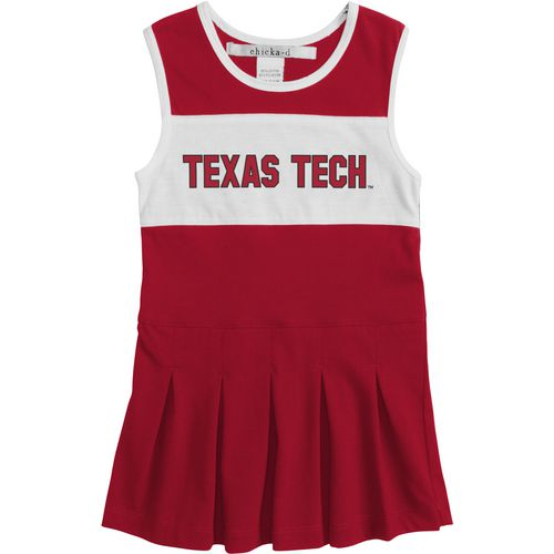 Chicka-d Girls' Texas Tech University Cheerleader Dress