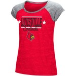 Colosseum Athletics Girls' University of Louisville Sprints T-shirt - view number 1