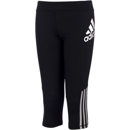 adidas Girls' Super Star Capri Pant