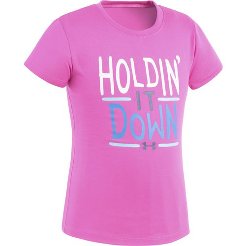 Under Armour Girls' Holdin It Down T-shirt