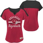 Gen2 Girls' University of Arkansas Tribute Football T-shirt - view number 3