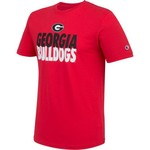 Champion Men's University of Georgia Big Soft Tee - view number 3