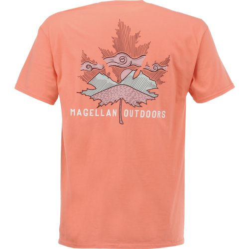 Magellan Outdoors Men's Maple Leaf Graphic Short Sleeve T-shirt
