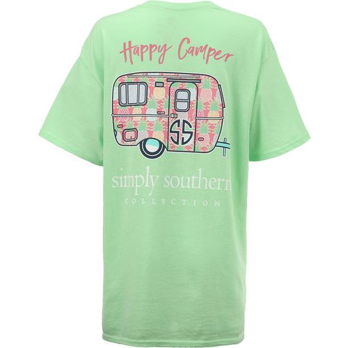 Display product reviews for Simply Southern Women's Camper T-shirt