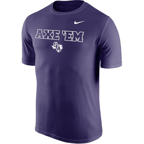Nike Men's Stephen F. Austin State University Dri-FIT Legend 2.0 Short Sleeve T-shirt - view number 1