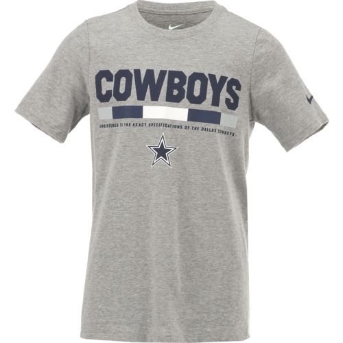 Nike Kids' Dallas Cowboys Legend Staff T-shirt