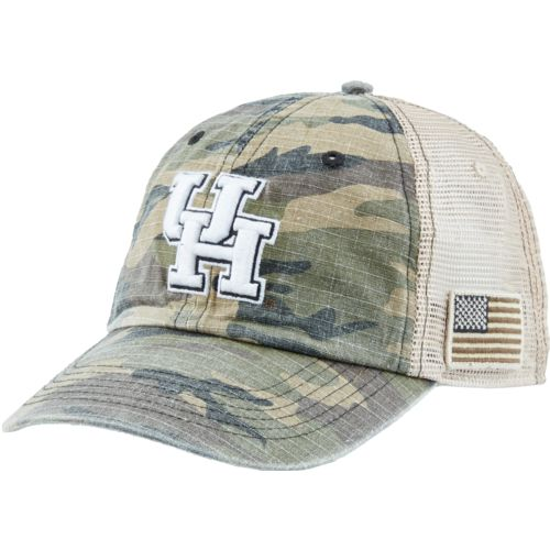 Top of the World Men's University of Houston Declare 2-Tone Adjustable Cap - view number 2