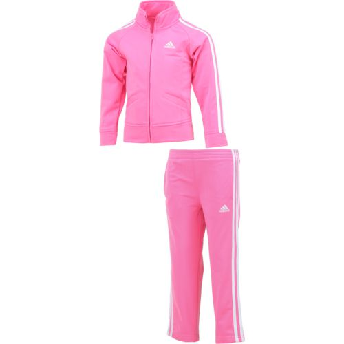 adidas Girls' Tricot Jacket Set
