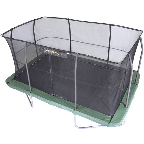 Jumpking 10 ft x 15 ft Rectangular Trampoline and Enclosure Combo