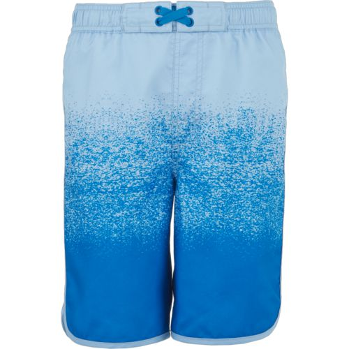 O'Rageous Boys' Shore Break Printed Scalloped Boardshorts