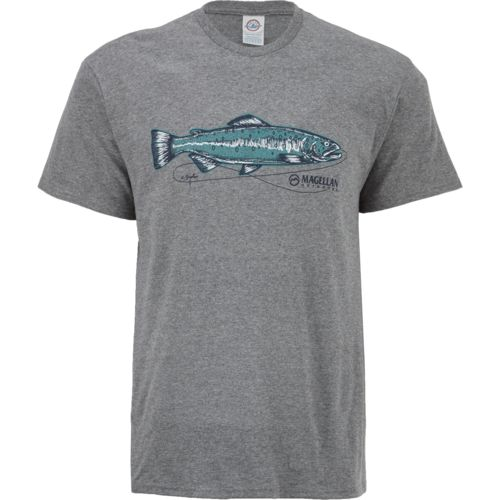 Magellan Outdoors Men's Sketched Trout T-shirt