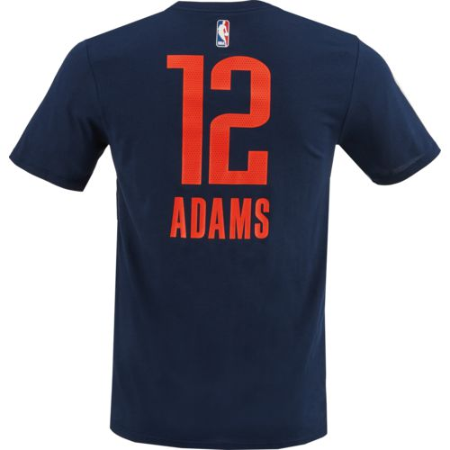 Nike Men's Oklahoma City Thunder Steven Adams 12 Name and Number T-shirt