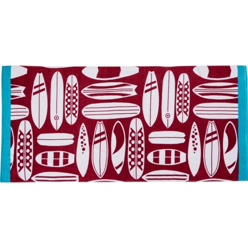 O'Rageous Surfboard Beach Towel