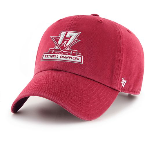 '47 University of Alabama Men's National Champs Special Clean Up Cap