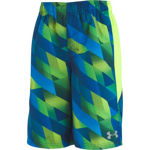 Under Armour Boys' Electric Field Volley Swim Shorts