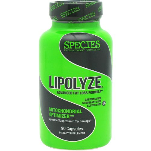 Species Nutrition Lipolyze Advanced Fat Loss Formula Mitochondrial Optimizer Capsules