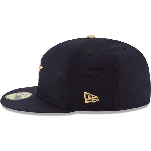 New Era Men's Houston Astros Gold Patch 59FIFTY Cap - view number 6