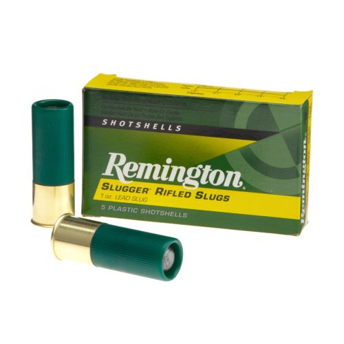 Remington Slugger 12 Gauge Rifled Slugs 5-Pack