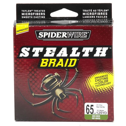Image for Spiderwire® Stealth™ Braid™ 65 lb. - 125 yards Braided Fishing Line from Academy