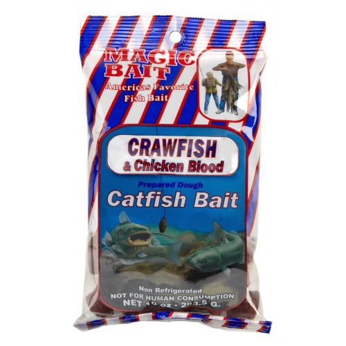 Display product reviews for Magic Bait 10 oz. Crawfish and Chicken Blood Catfish Bait