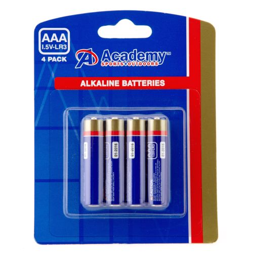 Academy AAA Batteries 4-Pack