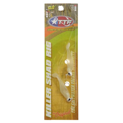 Texas Tackle Factory Double Shad 1/16 Rig