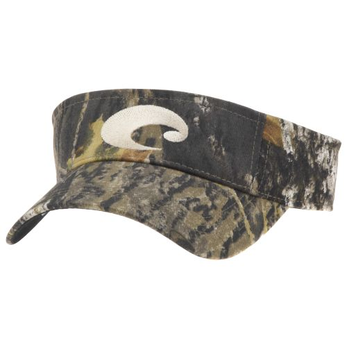 Costa Del Mar Camo Cotton Visor Hat