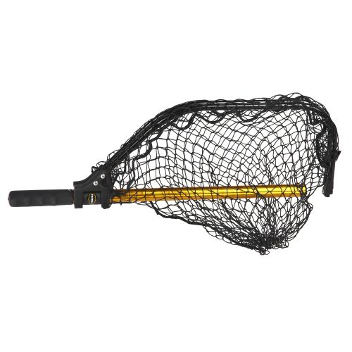 Frabill power stow 14 x 18 fishing net academy for Collapsible fishing net