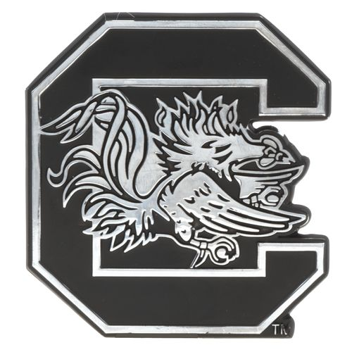 Stockdale NCAA Chrome Metal Auto Emblem