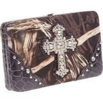 Realtree Women's MAX-4 Camo Cross Wallet