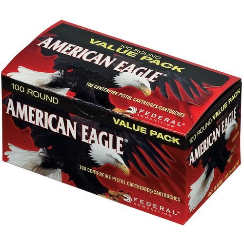 Display product reviews for Federal Premium American Eagle .40 S&W 180-Grain Centerfire Pistol Ammunition