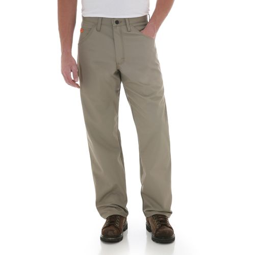 Image for Wrangler® Men's Flame-Resistant Carpenter Ripstop Pant from Academy
