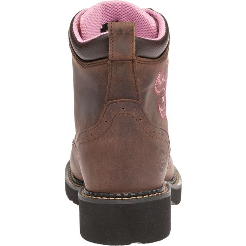 Justin Women's Gypsy® Aged Bark Steel Toe Work Boots - view number 4