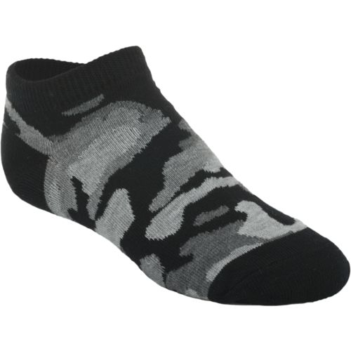 BCG Boys' No-Show Socks 6 Pack