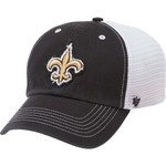 '47 Men's New Orleans Saints Blue Mountain Closer Mesh Cap